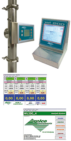analysis system for grape must sistema analisi mosto wl200